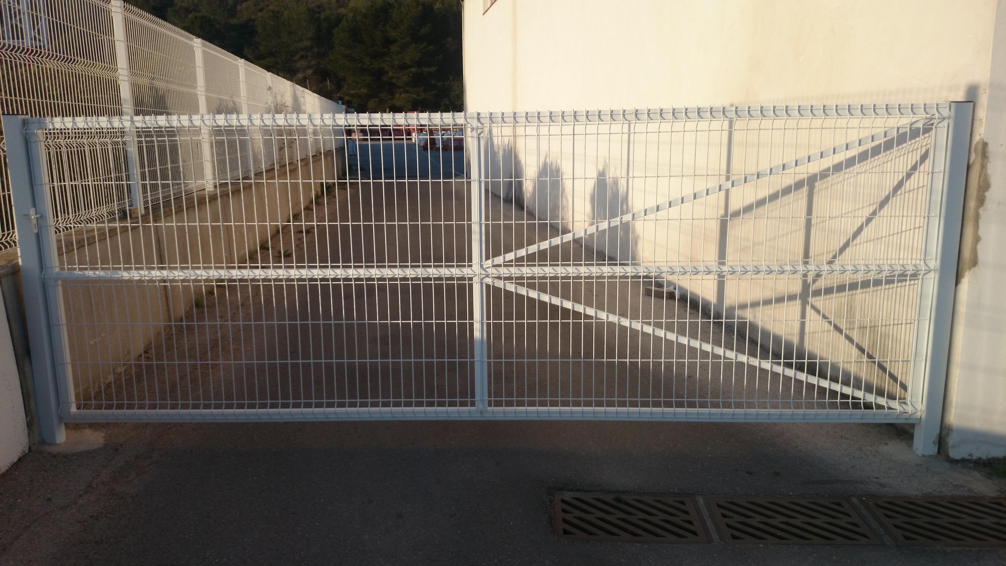 Puertas Verja Plegada